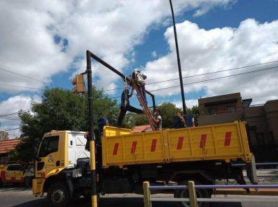 Intensos trabajos del Municipio luego de las lluvias que afectaron a la ciudad