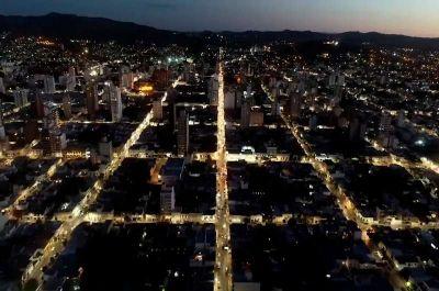 La Usina y el Municipio completaron 1.400 cuadras del alumbrado público con luminarias Led