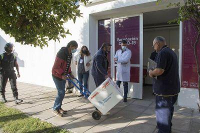La nueva partida de vacunas comenzó a ser distribuida en hospitales de San Luis