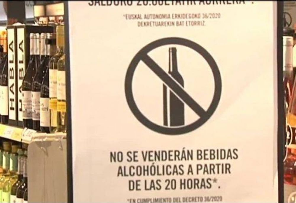 Ley seca: prohíben la venta de alcohol de jueves a la noche a domingo