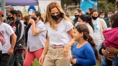 Tolosa Paz desarrolló agenda vecinal en San Carlos y Villa Elvira