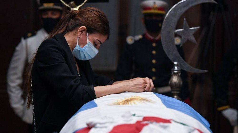 Menem, el primer presidente argentino en un cementerio islámico
