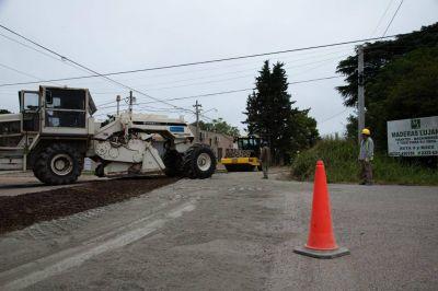 El Municipio avanza con el plan de asfaltado en los barrios Universidad y El Trébol