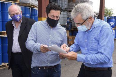 Nardini entregó habilitación a una empresa de Malvinas Argentinas