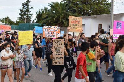 Santa Eufemia: masiva movilización en pedido de justicia por Jésica