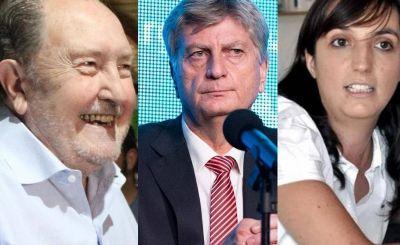"""Carlos Verna, Sergio Ziliotto y """"Luchy"""" Alonso se encuentran dentro de la lista de unidad del PJ que encabeza Alberto Fernández"""