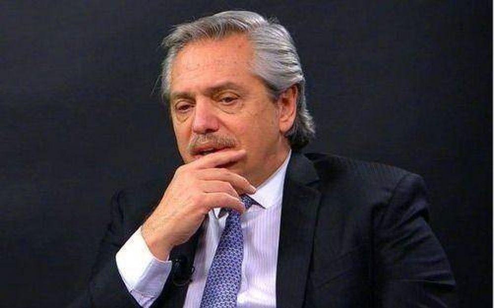 Alberto con dirigentes K, gobernadores, pocos intendentes y sindicalistas