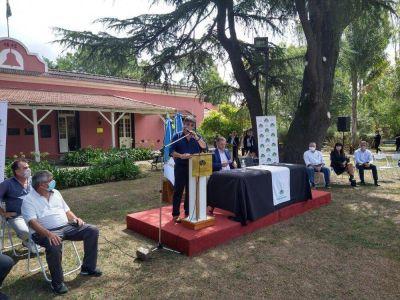"""El """"Cholo"""" García participó de la firma del nuevo Convenio Colectivo de Trabajo en Echeverría"""