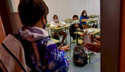 Solo once de las 300 escuelas de la región volvieron a las clases presenciales