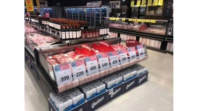 Precios: maniobras con alimentos para llevar los precios hasta 9% más caros en supermercados