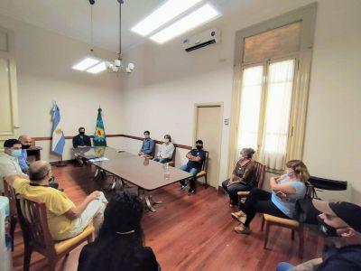 Paritarias municipales: reunión entre el Ejecutivo y sindicatos