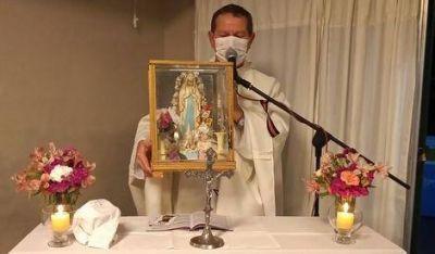 Con la misa de Lourdes, el Hogar del Niño inició los festejos por los 40 años