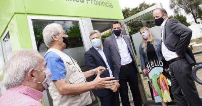 Martín anunció que proyectan instalar otros seis cajeros automáticos en Lomas