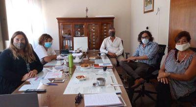 El director de Asistencia Social Directa de la Provincia visitó la ciudad