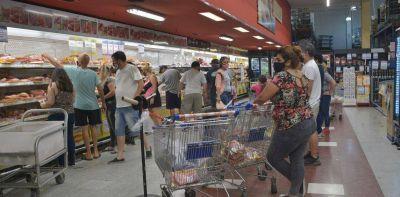 Los supermercados y el AMBA fueron los grandes ganadores del consumo en enero