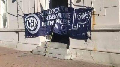 Junín: Trabajadores Municipales tomaron el municipio
