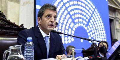"""""""Se tiene que apurar el debate, más de un millón de argentinos esperan alivio fiscal"""" y """"con $56 mil sos pobre y con $72 mil pagás Ganancias"""": cinco definiciones de Massa sobre el proyecto de ley"""