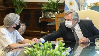 """La mamá de Úrsula Bahillo se reunió con Alberto Fernández y contó que el presidente """"se quebró"""" y le """"prometió varias cosas"""""""