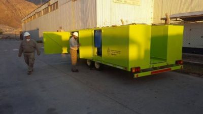 Ambiente de San Juan recibió un tráiler para recolección de residuos