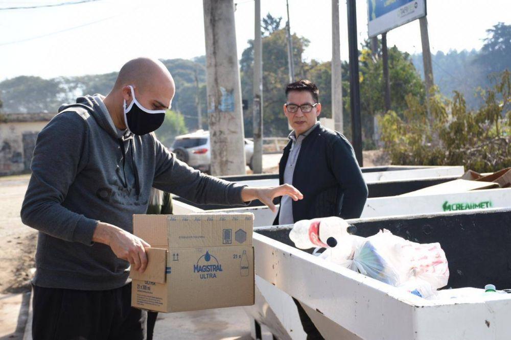 Fomentan el reciclaje en Tafí Viejo