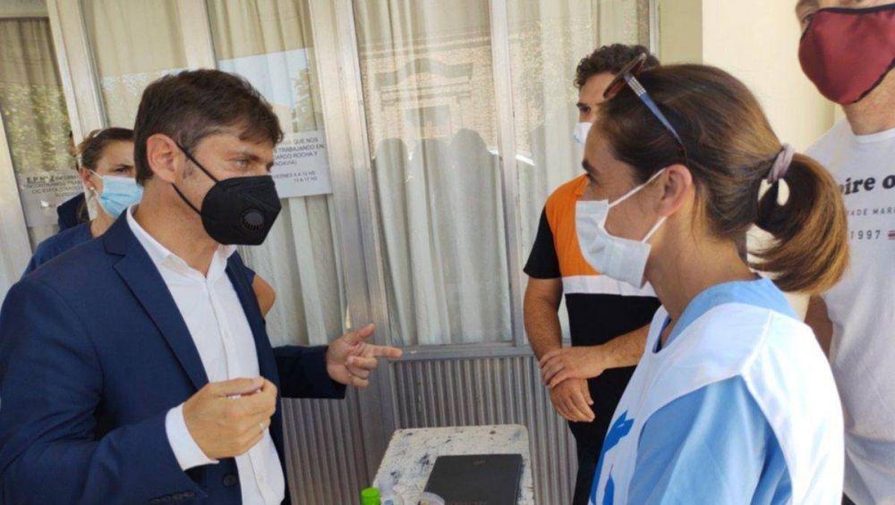 Axel defendió vacunación de intendentes y citó al PRO Iguacel