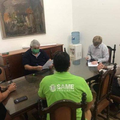 San Miguel: Avanza la mesa técnica del área de Salud