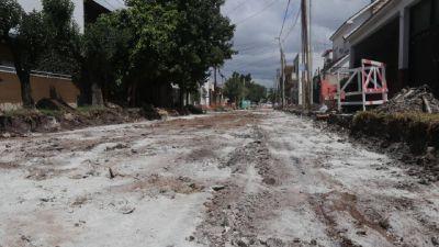 Inversión millonaria en Morón: Bacheo y asfalto en calles