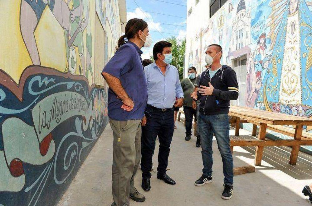 La Matanza   Espinoza anunció la urbanización de los barrios Puerta de Hierro, San Petersburgo y 17 de Marzo
