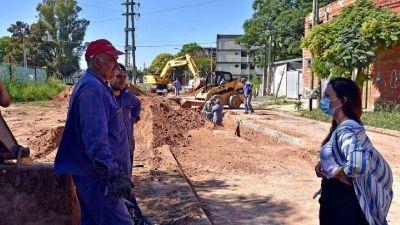 """Casaretto: """"A pesar de la pandemia, se sigue avanzando con obras que transforman la calidad de vida de los vecinos"""""""