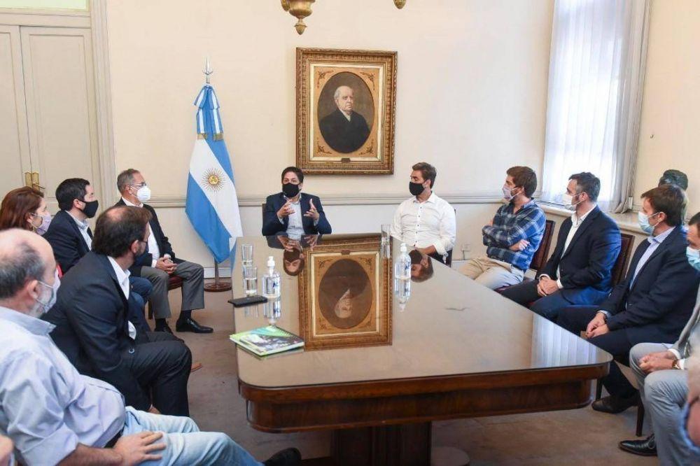 El Intendente se reunió con el Ministro Trotta para coordinar programas revinculación educativa