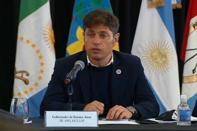 Kicillof pidió incluir el canal de Magdalena en el Consejo federal de Hidrovía