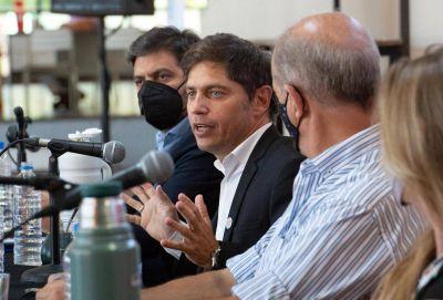 Kicillof comenzó las paritarias 2021 con los estatales y les prometió que mantendrán el poder adquisitivo