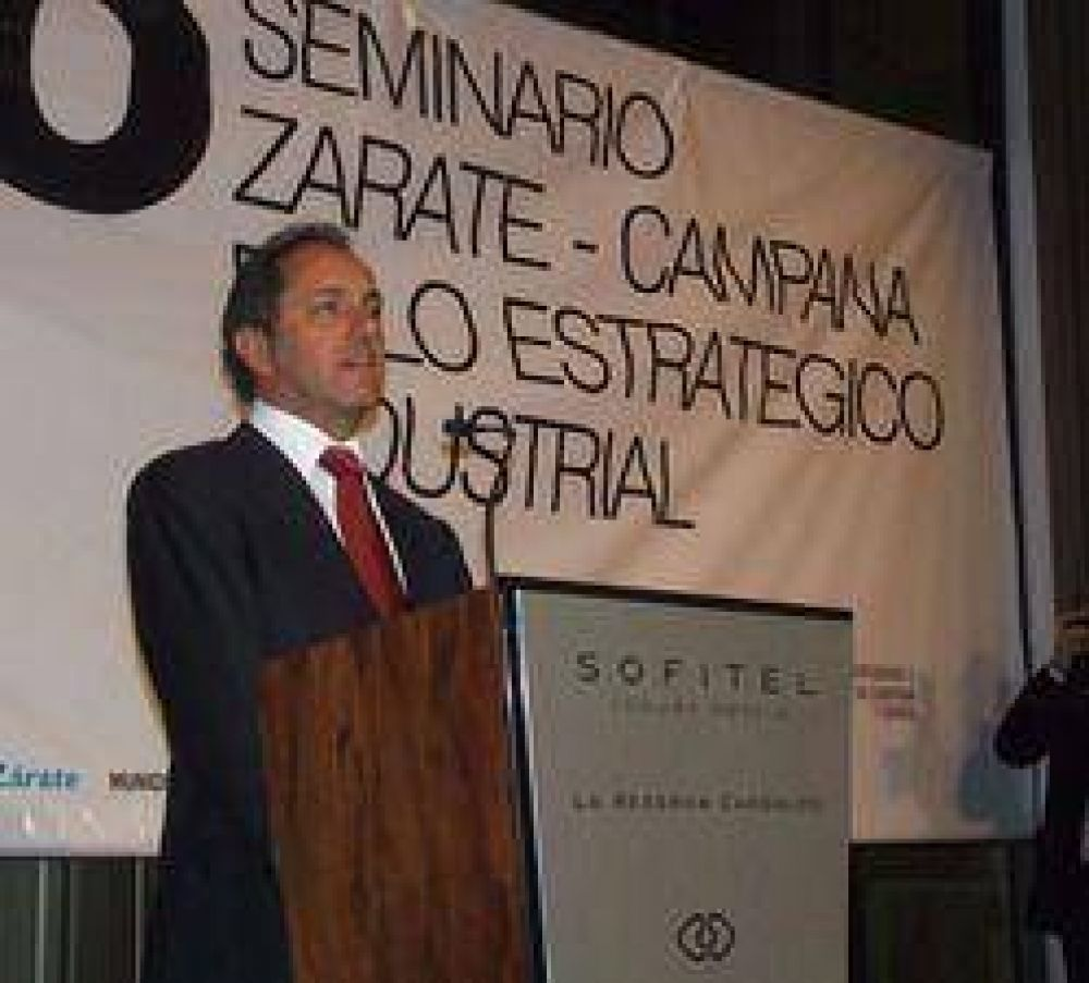 Concluyó el primer seminario que mostró el potencial industrial de la región Campana-Zárate