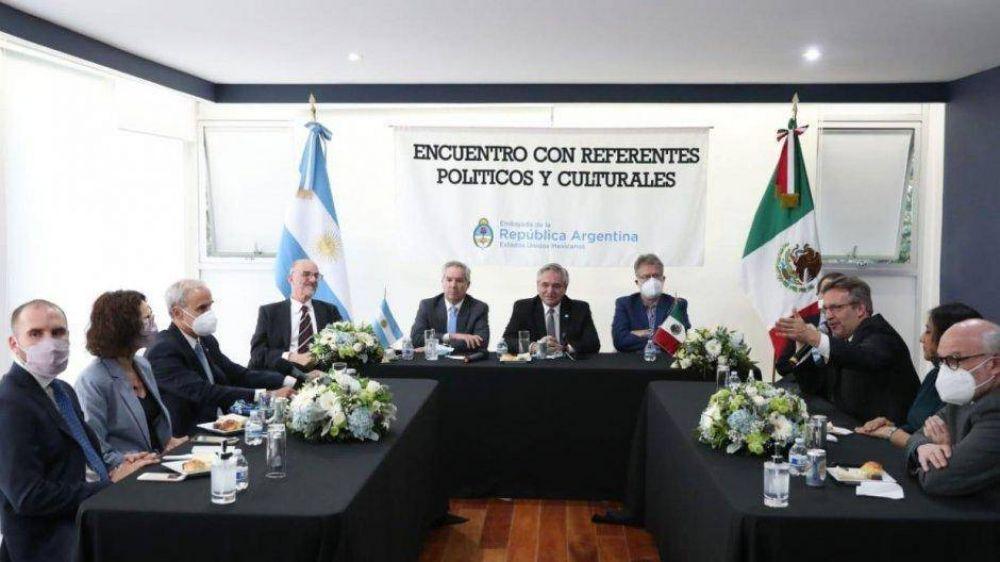 Alberto hizo equilibrio entre los dos grupos que disputan la sucesión de AMLO en 2024
