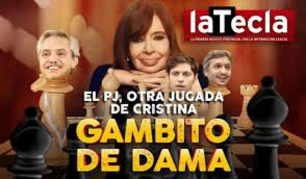 Cristina Fernández y el PJ: Gambito de Dama