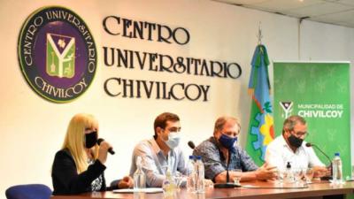 Suipacha: Federico participó de la Mesa Ambiental organizada por el OPDS