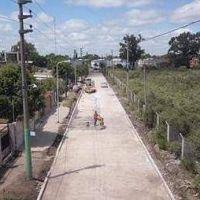 Se inició la obra de pavimentación de las calles que vinculan las Rutas Provinciales 23 y 24