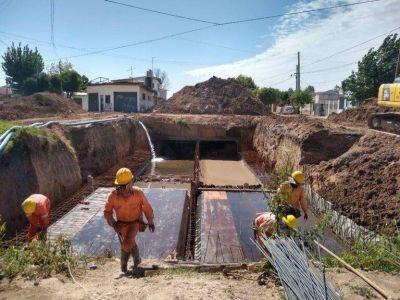 Obra de saneamiento hidráulico y pavimentación del arroyo Salguero Cuenca Baja