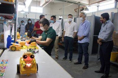 Lanús brindará clases de robótica en centros educativos municipales