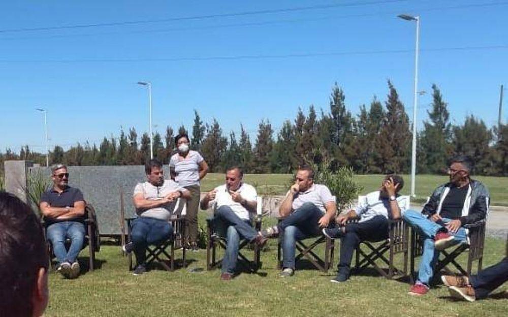 Ramón Canosa participó de una reunión seccional de Juntos por el Cambio