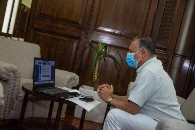 Gelené mantendrá una nueva reunión con Kicillof por la situación epidemiológica de la ciudad