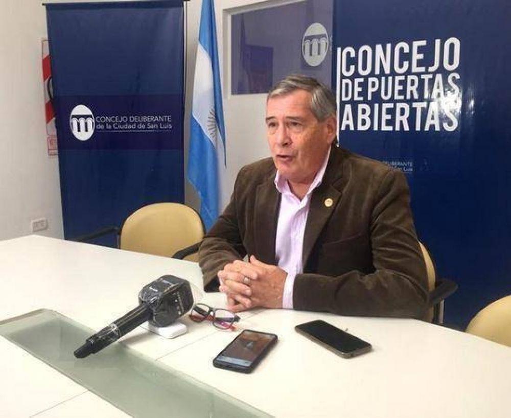 """Carlos Ponce abandona el bloque San Luis Somos Todos, mientras que la alianza de su hermano con """"el"""" Adolfo se consolida"""