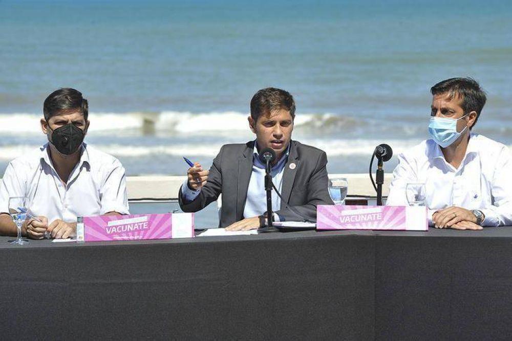 """Kicillof: """"En la provincia no hay ni vacunatorios ocultos ni vacunatorios privatizados"""""""