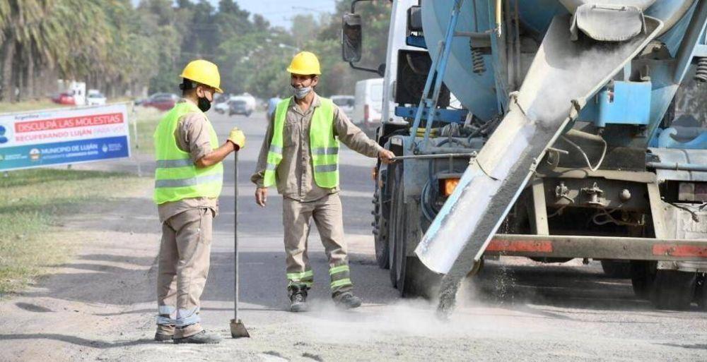 Avanza el plan de 104 cuadras de asfalto