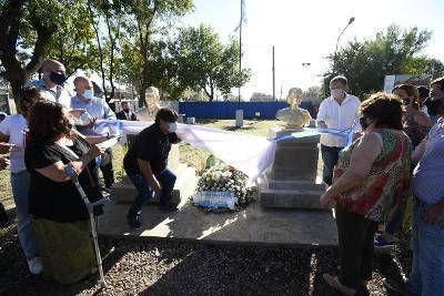 Cascallares encabezó homenaje a Juan Perón en el 75 aniversario de su primer triunfo electoral