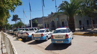San Vicente: preparativos para la visita de Kicillof para entregar patrulleros