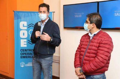 Córdoba: confirman que se vacunaron el vicegobernador Calvo y colaboradores