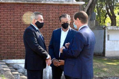 El ministro Rossi pidió transparencia en su paso por Entre Ríos