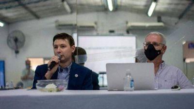 El intendente de Alem reemplaza a Petrecca como presidente del Comité de Cuencas del Salado