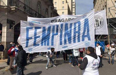 La FeMPINRA se solidarizó con los trabajadores de Dragado y Balizamiento y reclamó la preservación de los puestos de trabajo en la hidrovía